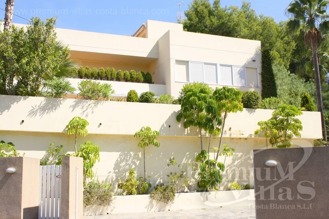 buy house villa Altea Costa Blanca - C1179 - Villa at the golf course Don Cayo in Altea with sea views. 6