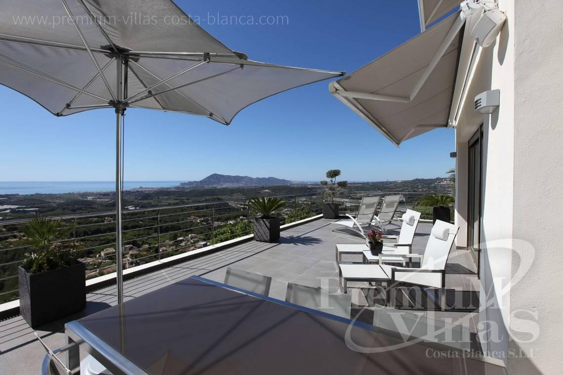 modern villas for sale Costa Blanca Spain - C2057 - Modern luxury villa in Altea La Vella 25