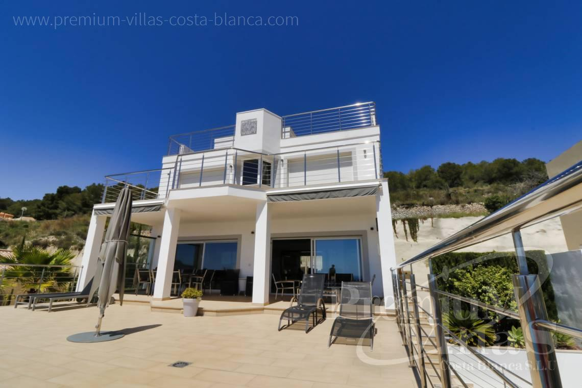 House villa for sale Calpe Costa Blanca - C1784 - Modern villa with a lift and great sea views in Calpe 29
