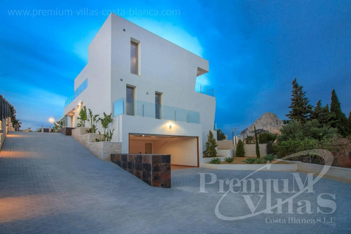 Modern house villa in Calpe Costa Blanca - C2186 - New modern villa in Calpe, near the