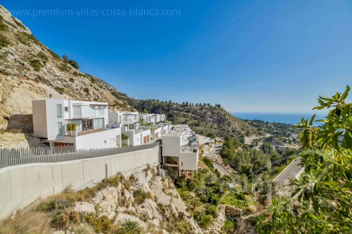 Modern villas with lift for sale in the Sierra de Altea - C2290 - Modern villas with private lift in the Sierra de Altea 1