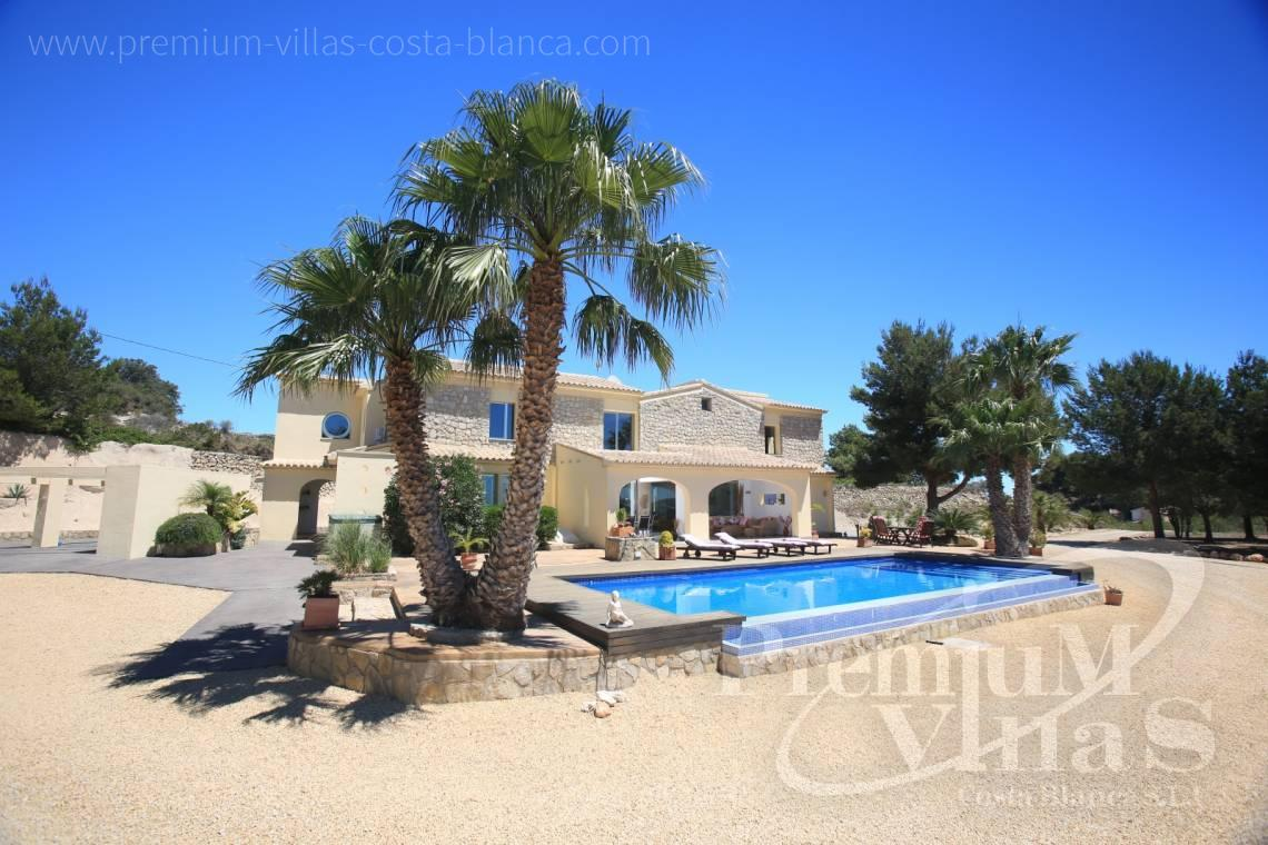 - C2199 - Moraira: Beautiful villa surrounded by vineyards with beautiful sea views. 19