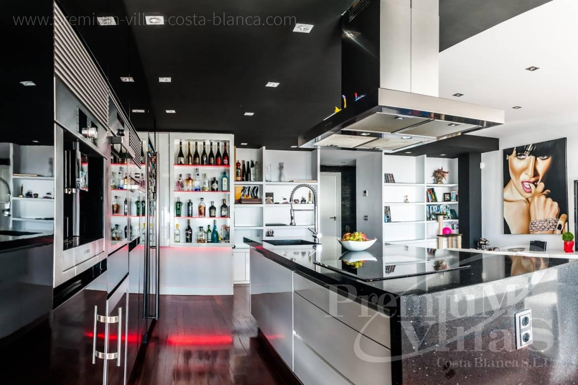 Buy luxury penthouse apartment duplex Altea Calpe Costa Blanca - A0566 - Fascinating apartment in Campomanes with stunning sea views 2