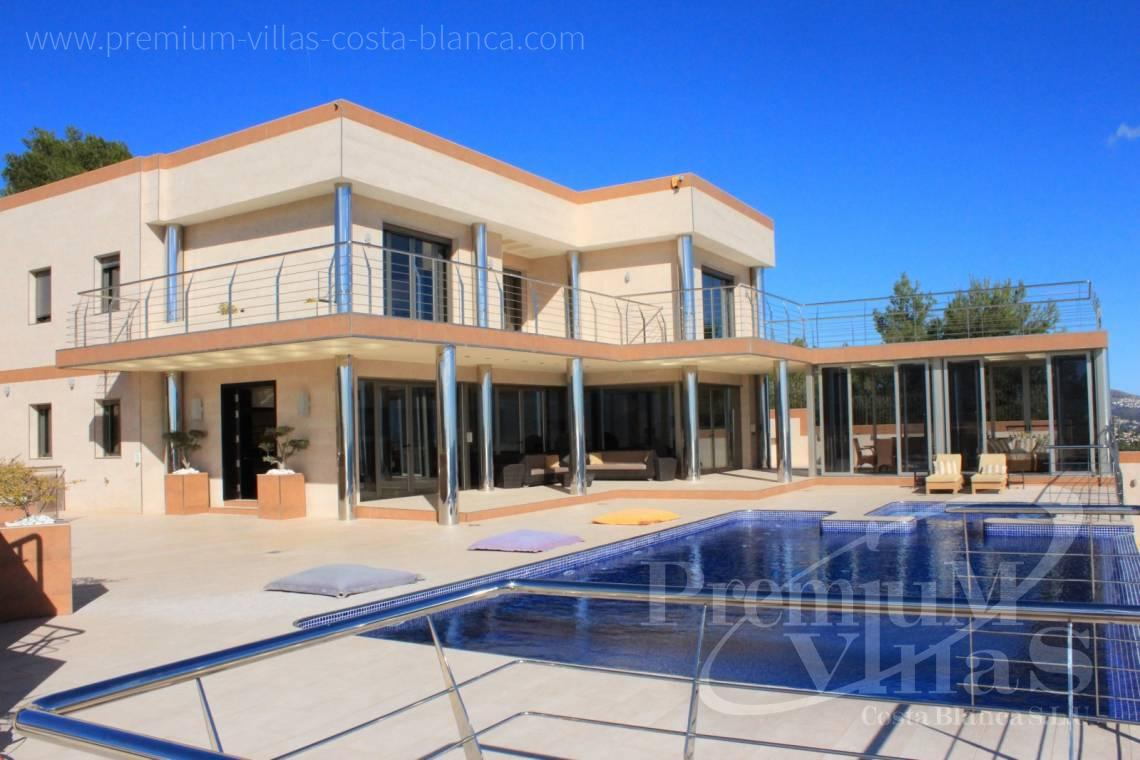 Buy 6 bedrooms villa house sea view in Benissa Costablanca  - C1506 - Mansion in a top location with separate guest house in Benissa 21