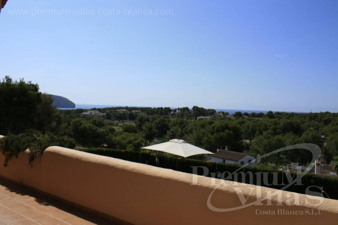 Buy villa with sea views in Moraira Costablanca - C2031 - Beautifull Villa in Moraira for sale with sea views  6