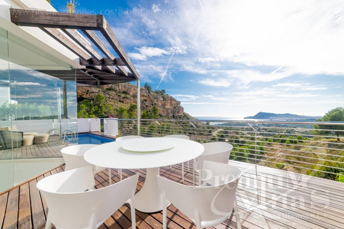 Modern villa for sale with sea views in the Sierra de Altea - C2290 - Modern villas with private lift in the Sierra de Altea 3
