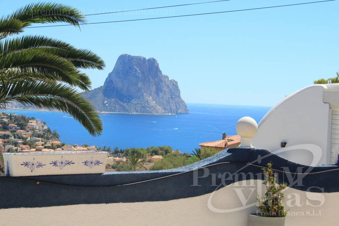 Villas with sea views in Calpe Costablanca - C1986 - Villa in Calpe with guest apartment and sea views 23