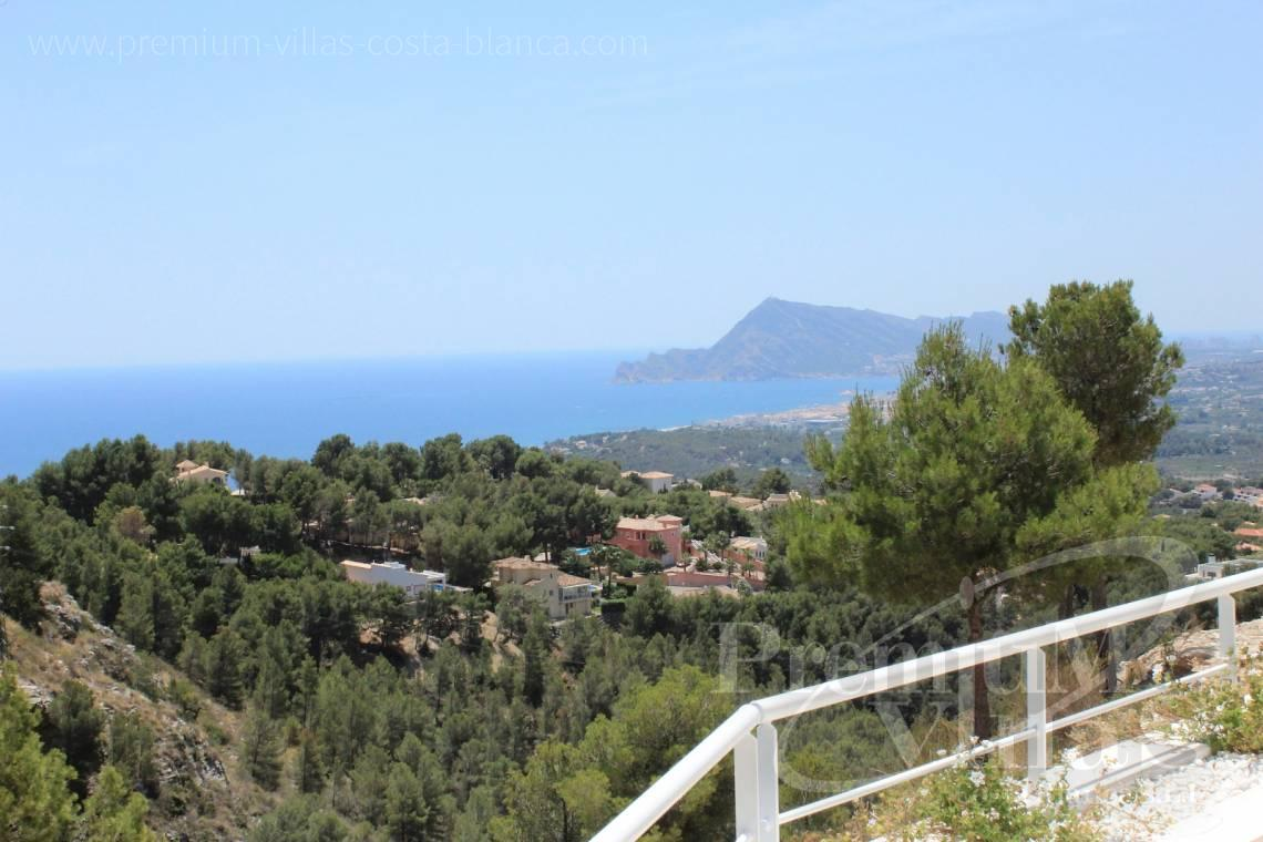 Buy villas houses sea view Altea Calpe Moraira Benissa Costa Blanca - C1595 - Six modern luxury villas under completion with very nice sea views 1