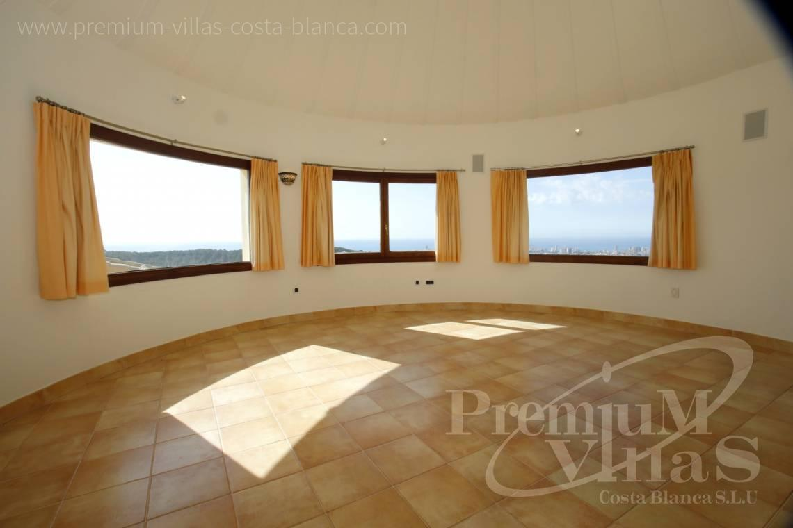 - C2174 - Luxury mansion on 3 levels with elevator and sea views in Calpe 16