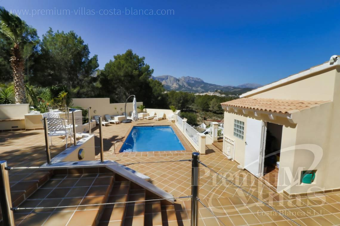 8 bedroom villa for sale in La Nucia Spain - C2249 - Villa in urbanization El Tossal in La Nucia 2