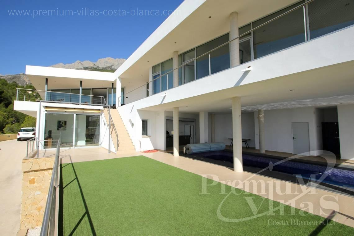 Modern villa for sale with guest apartment in Altea Spain - C1977 - Modern luxury villa for sale in Altea with magnificent sea views 6