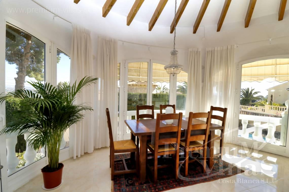 - C2265 - Sea view mediterranean villa 3 bedrooms in Calpe 8