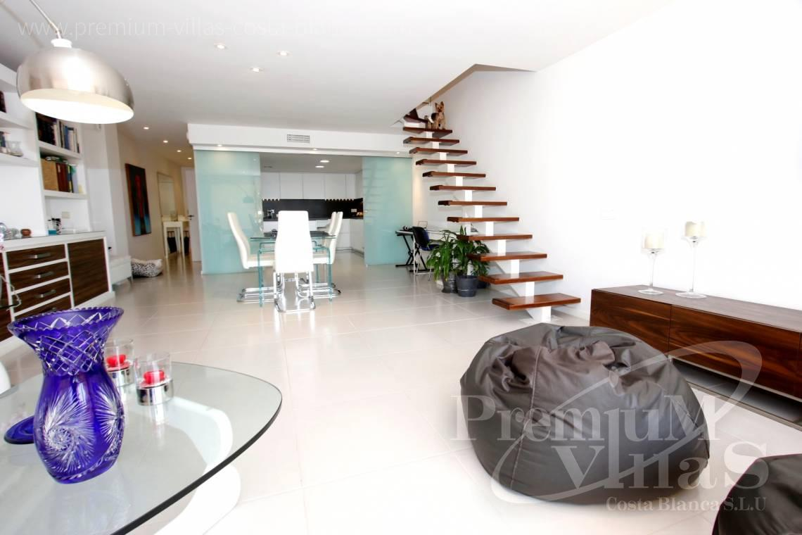 Apartment penthouse duplex near beach sea views Altea Calpe Costa Blanca - A0592 - Amazing duplex in Marina Greenwich (Campomanes) with sea views. 3