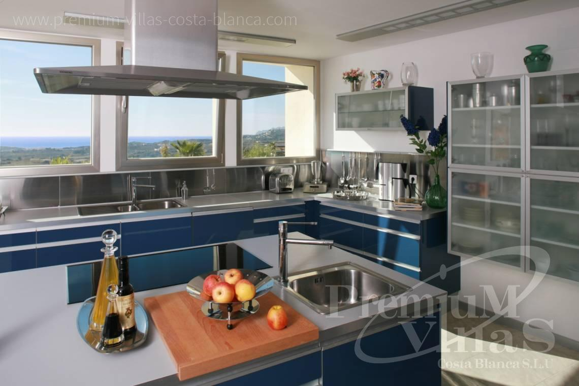 Buy Villa house Moraira  Costa Blanca - C2199 - Moraira: Beautiful villa surrounded by vineyards with beautiful sea views. 10