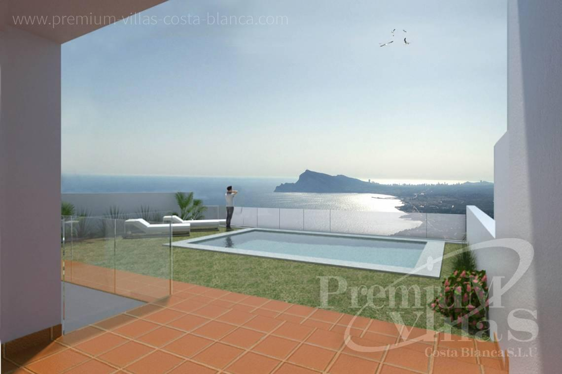 Buy house villa property Altea Hills Costa Blanca - C2189 - Single family homes in Altea Hills with stunning sea views 2