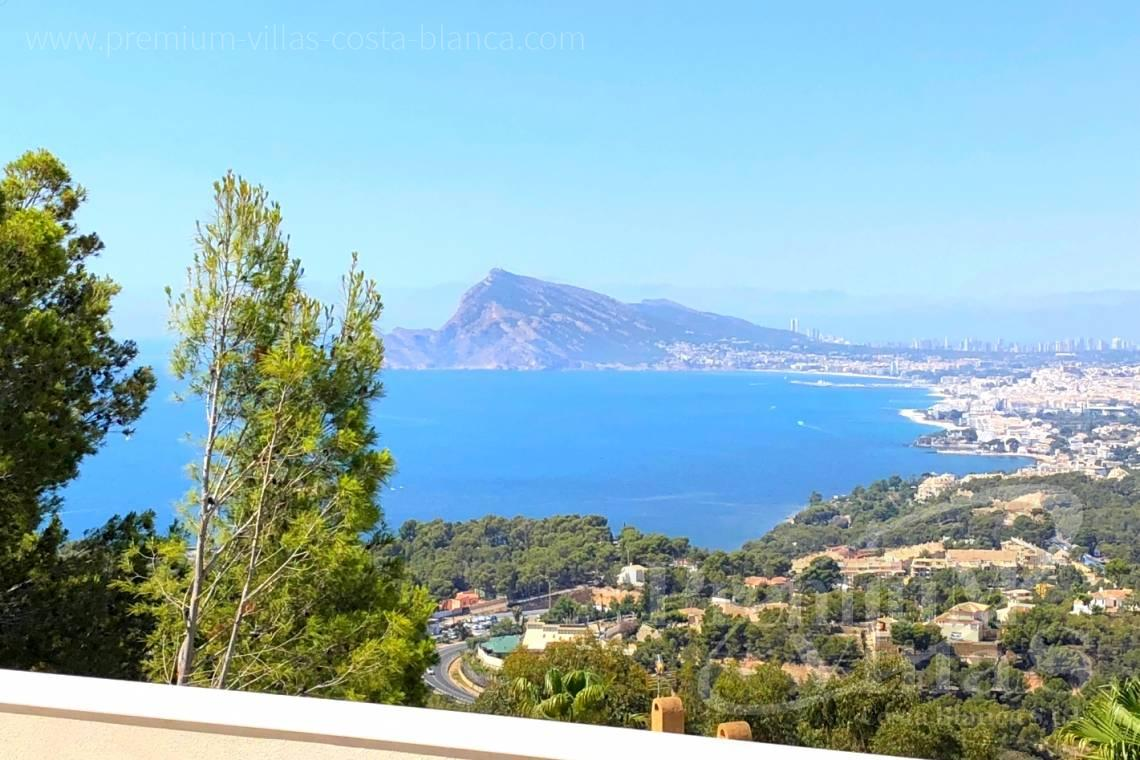 Buy modern villa with sea views in Altea Hills Costa Blanca - C2138 - New construction of a modern villa in Altea Hills with fantastic views 2