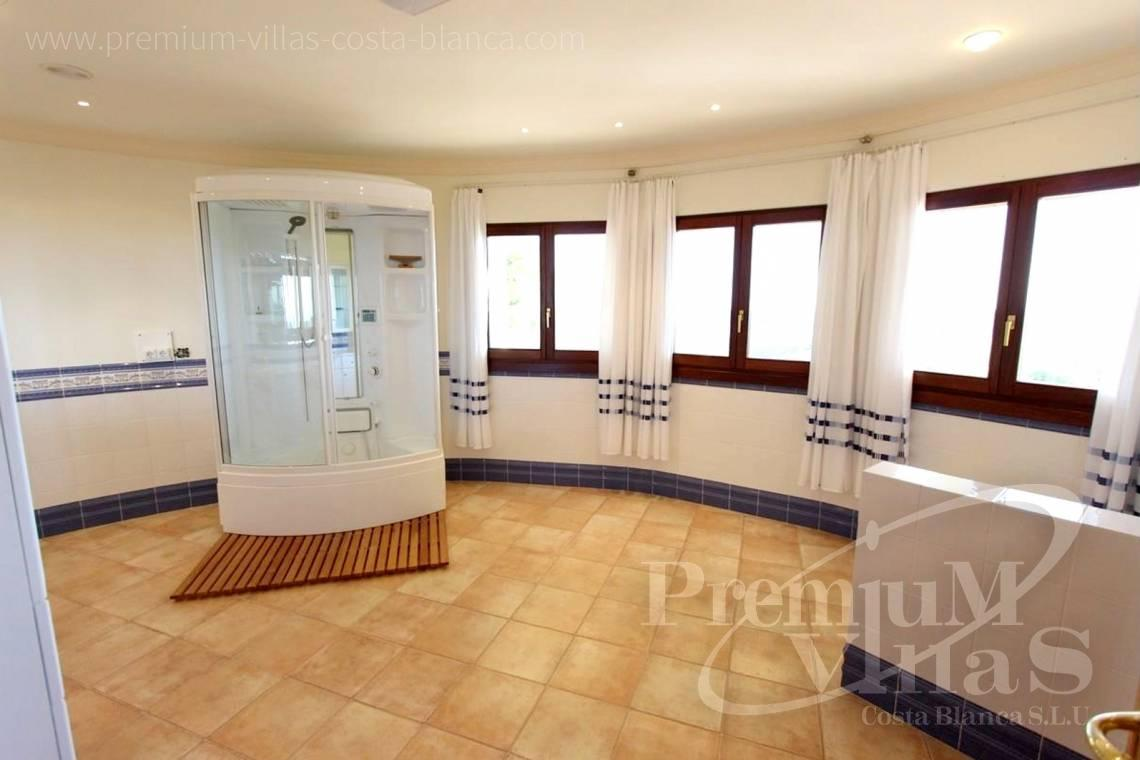 - C2174 - Luxury mansion on 3 levels with elevator and sea views in Calpe 17