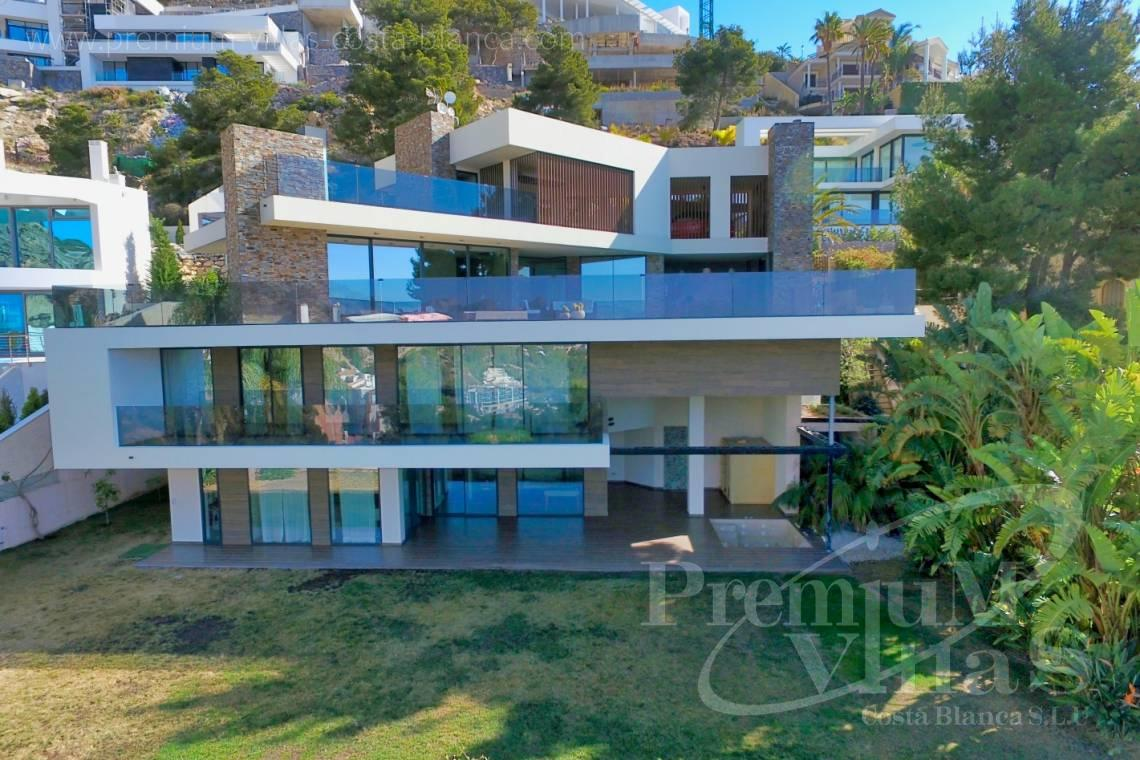 modern house Altea Costa Blanca - C2173 - Ultra-modern villa in Altea Hills with elevator, spa and stunning sea views. 1