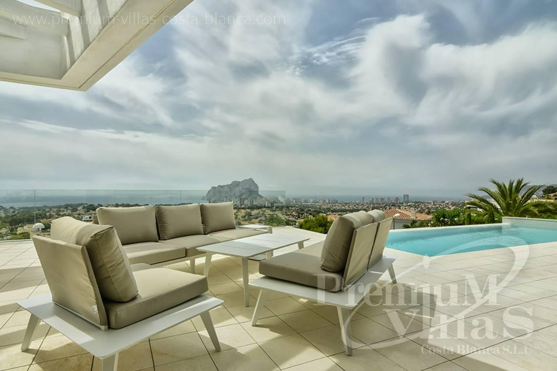 Modern sea view villa for sale in Calpe Spain - C2080 - Modern villa for sale with spectacular sea views in Calpe 5
