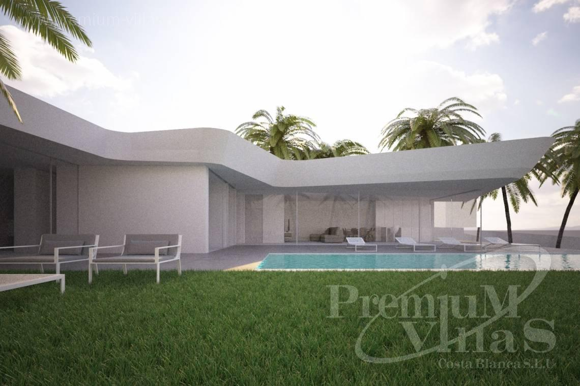 buy 3 bedrooms house villa Benissa Costa Blanca - C1802 - New construction! Modern house in Benissa for sale 3