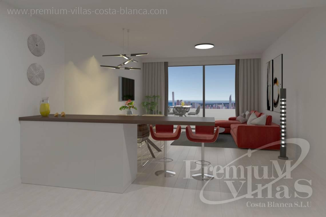 - A0622 - 2 bedrooms apartments with sea views in Finestrat 14