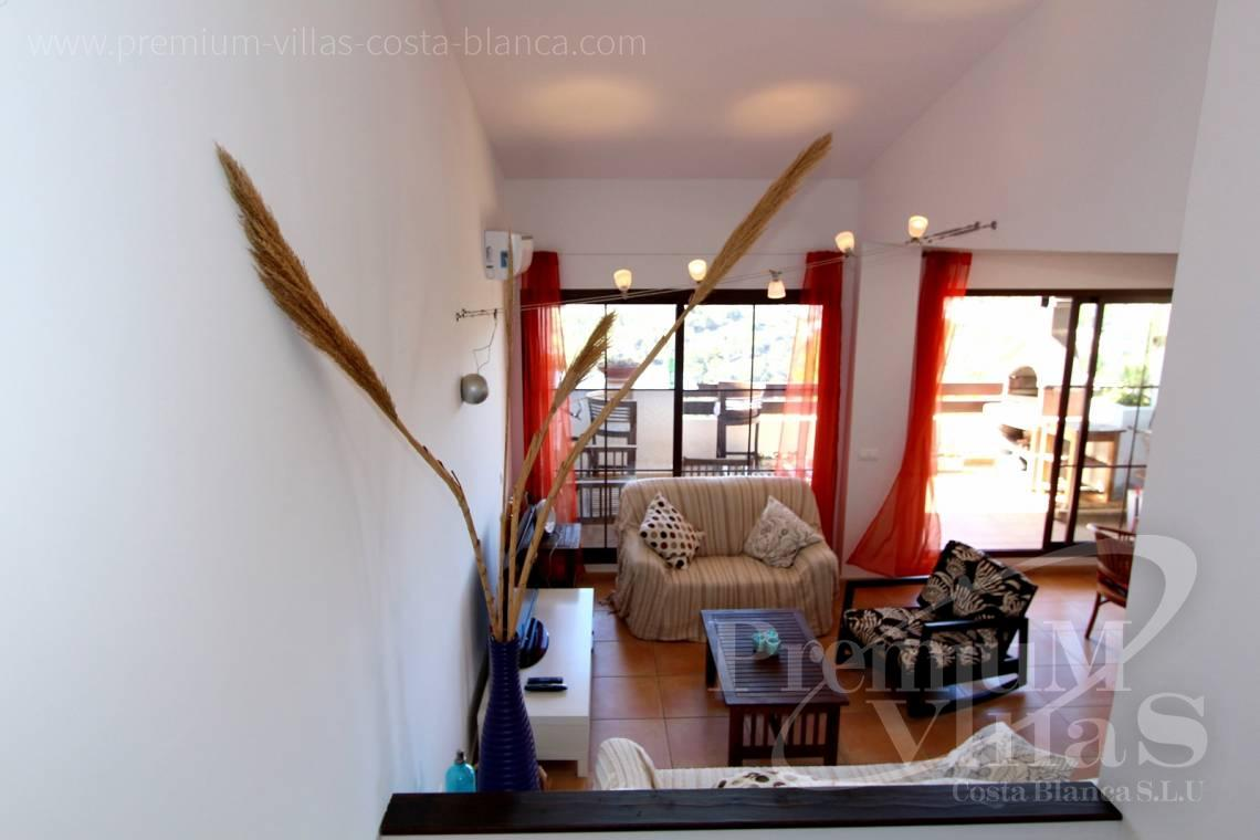 C1781 - Cozy corner townhouse with nice terraces, fantastic sea views in Altea Hills! 12