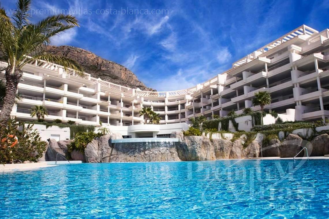 2 bedrooms luxury apartment in residential Mascarat Beach Altea Costa Blanca - A0606 - Seafront apartment in residential Mascarat Beach 3