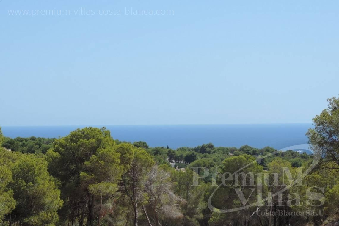 Plot for sale with sea views in Benissa Costa Blanca - 0208G - Urban plot in Benissa with sea views 1.5km from the beach 3