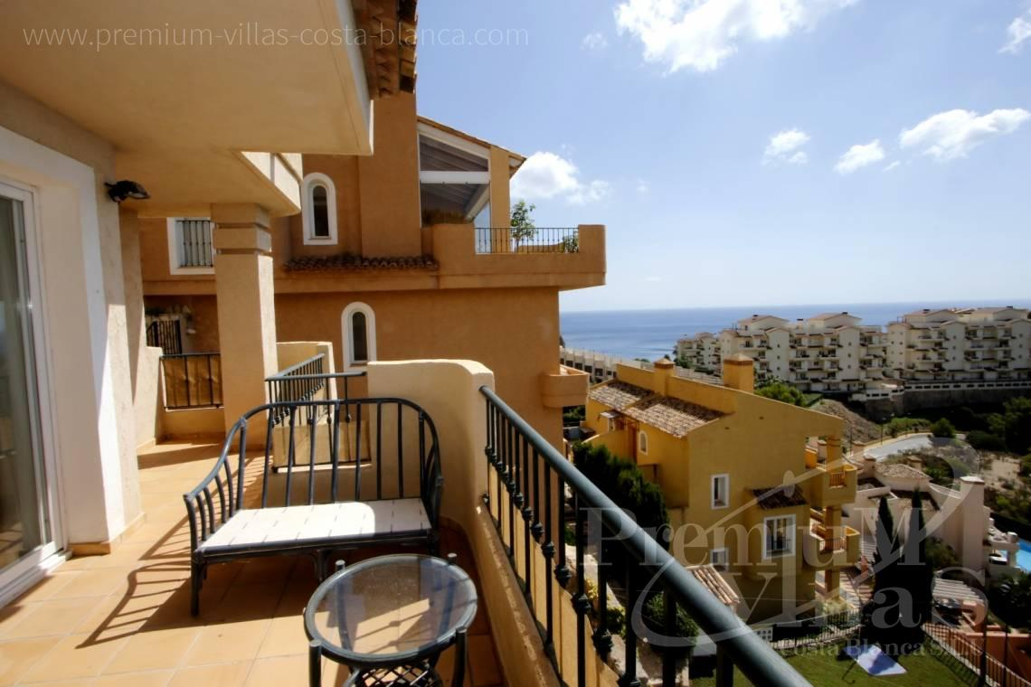 buy house villa Altea Costa Blanca Spain - C2211 - Bungalow in Altea 1000m from the sea, with stunning sea views. 2