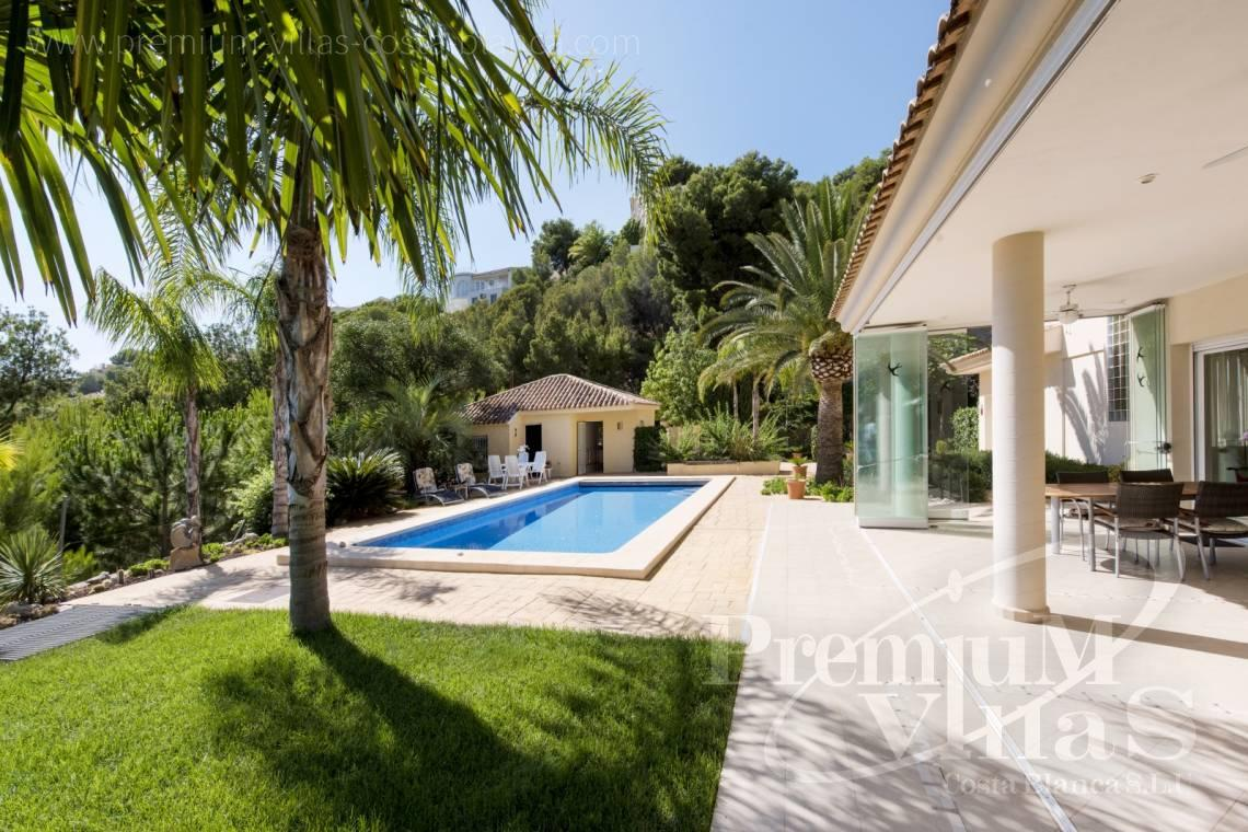 buy house villa Altea Costa Blanca - C1265 - Villa with sea views for sale in Altea 9