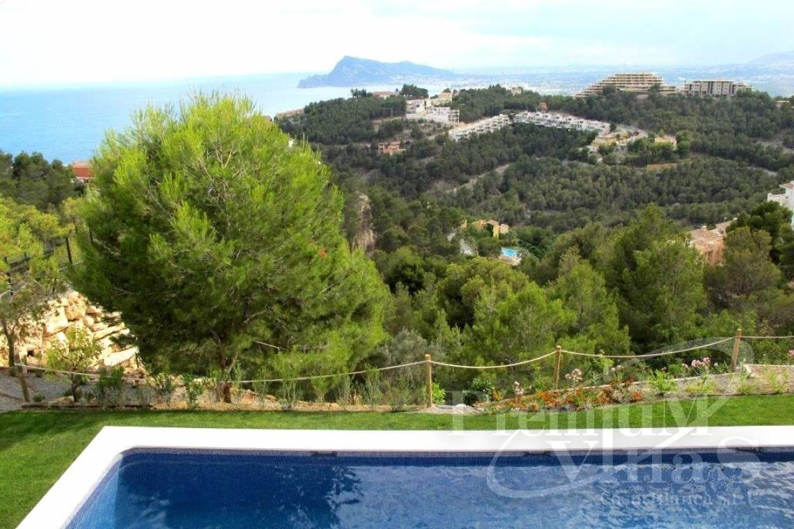 Mansions for sale Altea Costa Blanca Spain - C1855 - Luxury villa in Altea Hills with stunning sea views and two pools 9