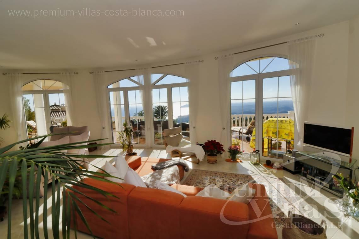 Living room in luxury villa with sea views in Altea  - C2251 - Luxury villa in prime location in Altea 22