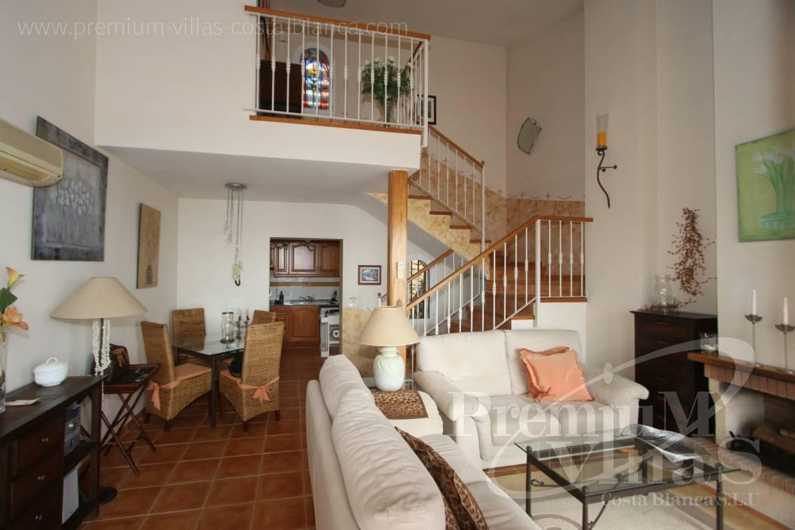 - C2086 - Cosy townhouse with wonderful sea views in the Sierra of Altea 7