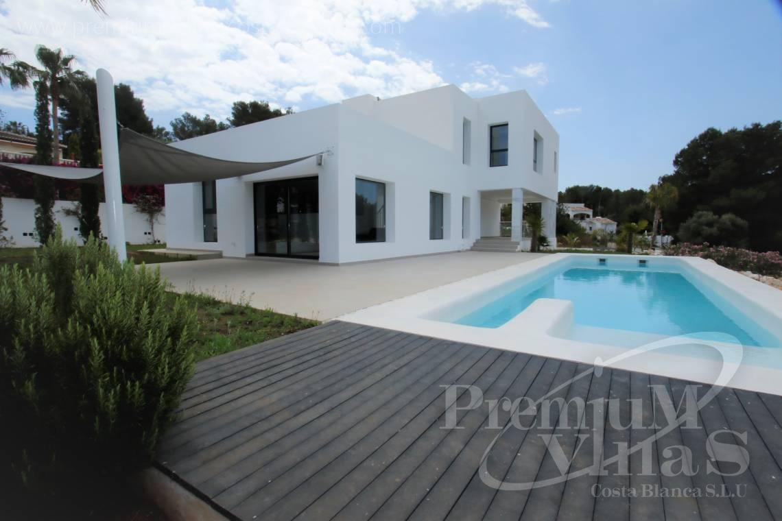 Buy villa house in Jávea Costa Blanca - C2164 - Newly built villa near the Javea Golf Course with spectacular mountain views. 2