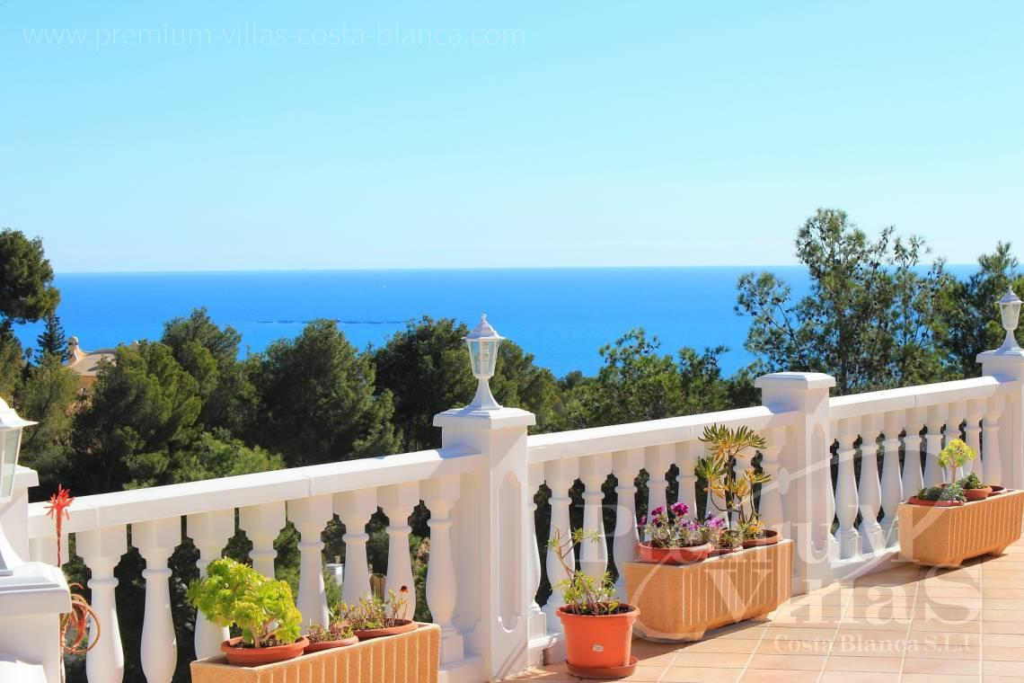 Villas for sale with sea views in Altea - C1721 - Colonial style villa in Altea with lovely sea views 2