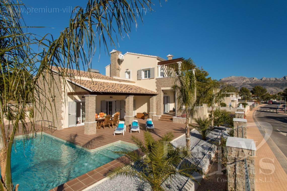house villa for sale Altea Costa Blanca Spain - CC2205 - Rustic style villa in Altea, recently built, with beautiful views 21