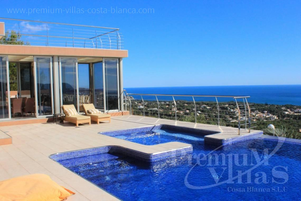 Buy modern villa in Benissa Costa Blanca - C1506 - Mansion in a top location with separate guest house in Benissa 1
