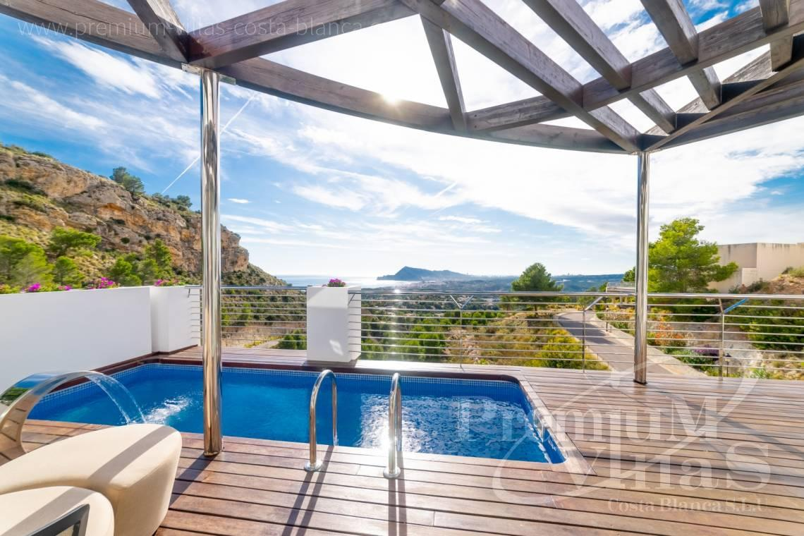 Buy modern villa with sea views in the Sierra de Altea - C2290 - Modern villas with private lift in the Sierra de Altea 4