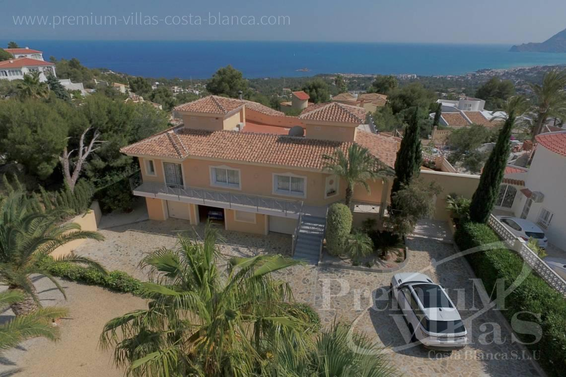 house villa for sale Altea Costa Blanca Spain - C2163 - Beautiful villa with guest studio and stunning views over the bay of Altea 29
