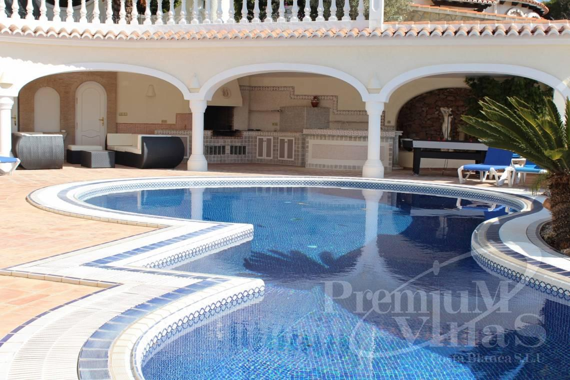 House in Moraira near the sea with guest apartment - C1495 - Luxury villa close the sea with a guest accomodation in Benissa 9