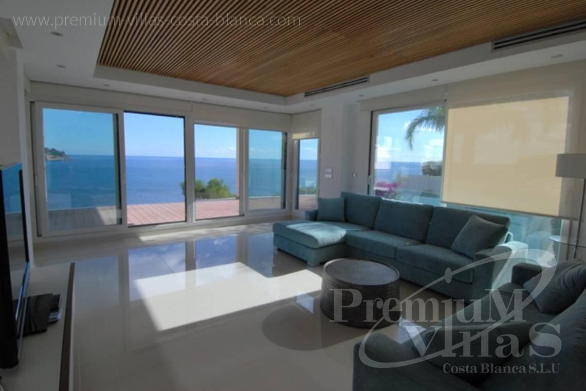 Buy modern villa in Benissa Costa Blanca - C1436 - Modern front line villa in Benissa with direct access to the beach 7