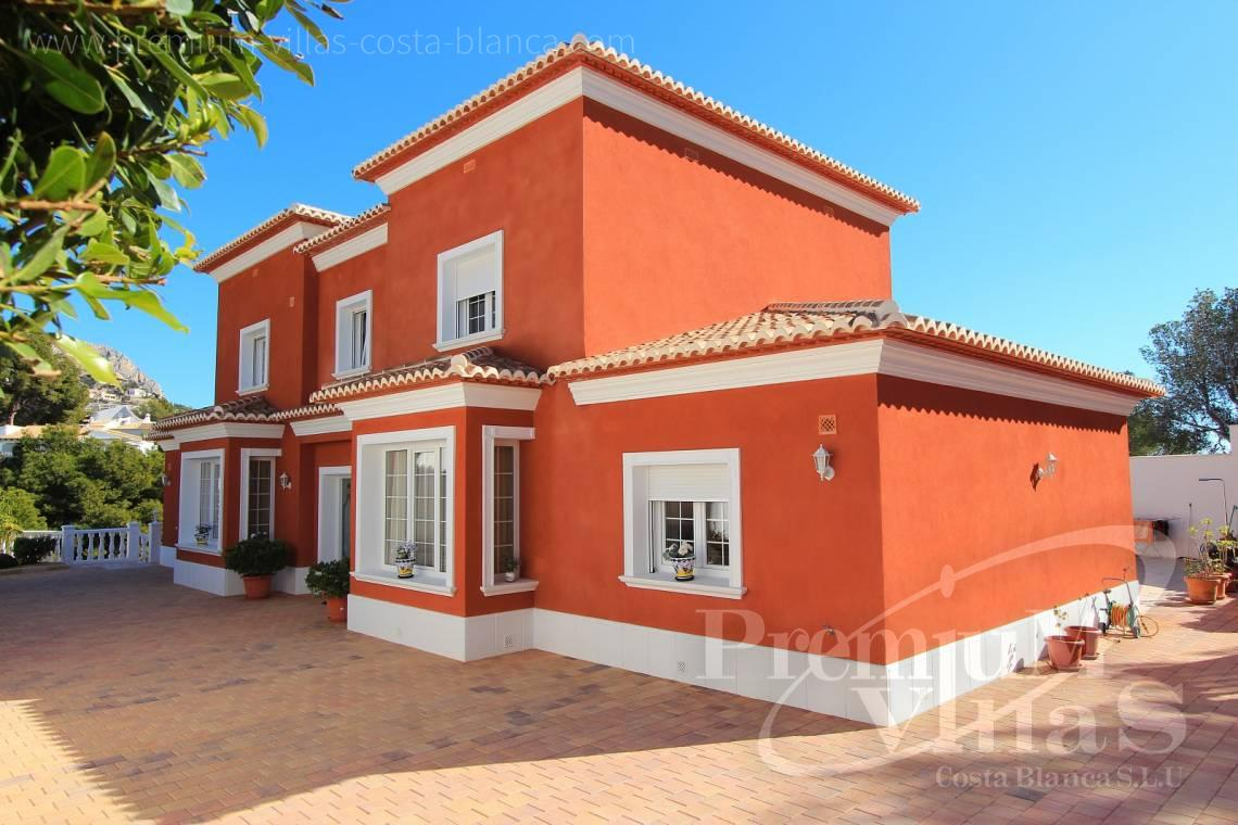 5 bedrooms house villa for sale Altea Costa Blanca Spain - C1721 - Colonial style villa in Altea with lovely sea views 3