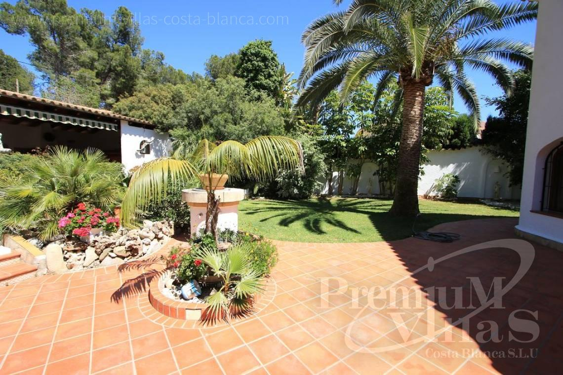 - C2151 - A real paradise on a double plot only 900m from the sea in Benissa 16