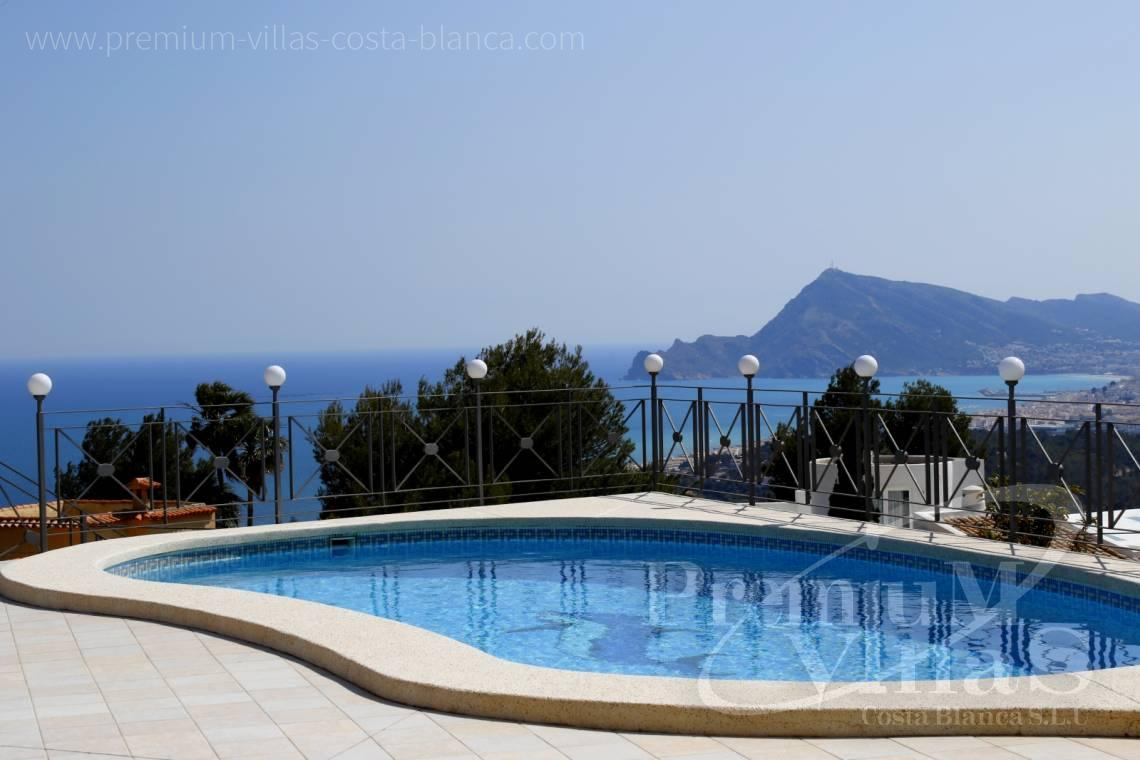 Buy villas houses sea view Altea Costa Blanca - C2163 - Beautiful villa with guest studio and stunning views over the bay of Altea 2