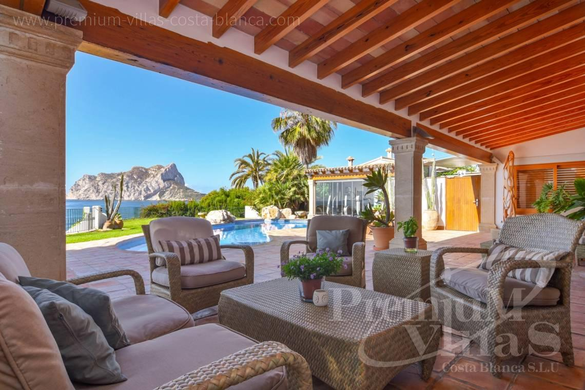 Mediterranean villa for sale on the first sea line in Benissa Costa - CC2404 - Frontline villa in Benissa Costa 4