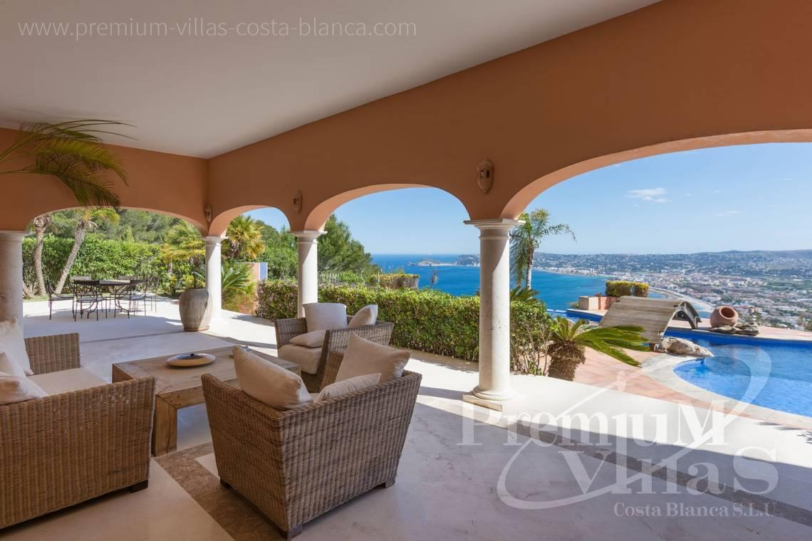 buy villa house Costa Blanca Spain - C2196 - Javea: Wonderful villa in a privileged location with unbeatable sea views 5