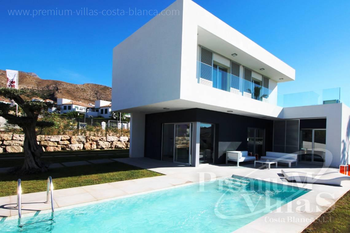 Buy villas houses bungalows Finestrat Costa Blanca - C2160 - Modern 3 bedroom villas close to the golf course and with sea views. 17