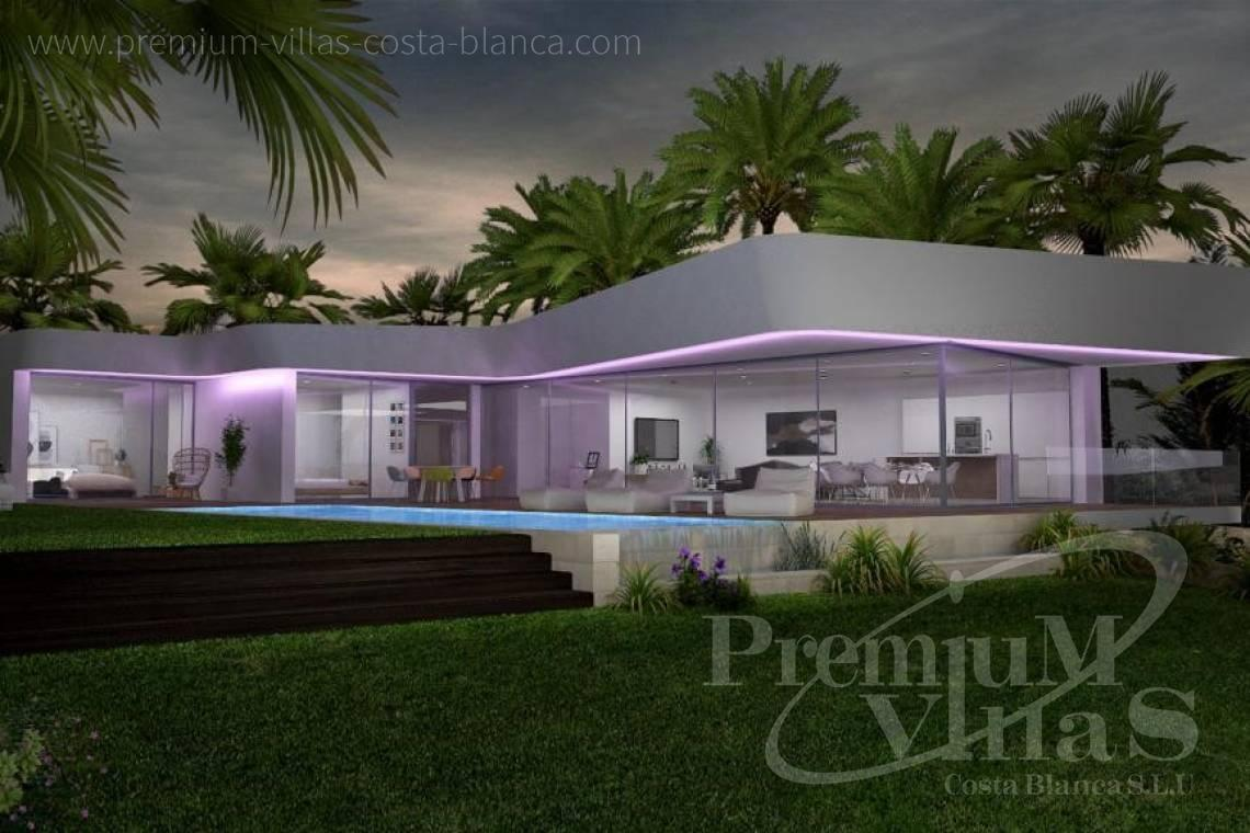 modern villas houses for sale Costa Blanca Spain - C1802 - New construction! Modern house in Benissa for sale 11