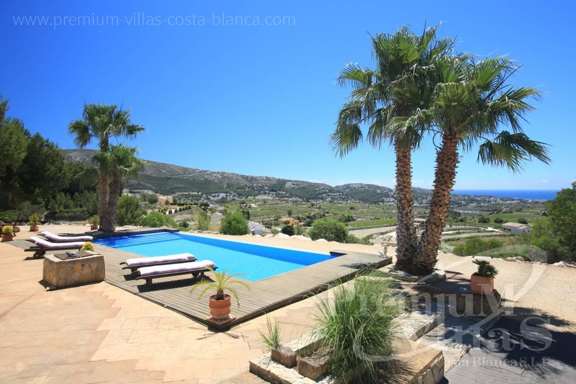 - C2199 - Moraira: Beautiful villa surrounded by vineyards with beautiful sea views. 18