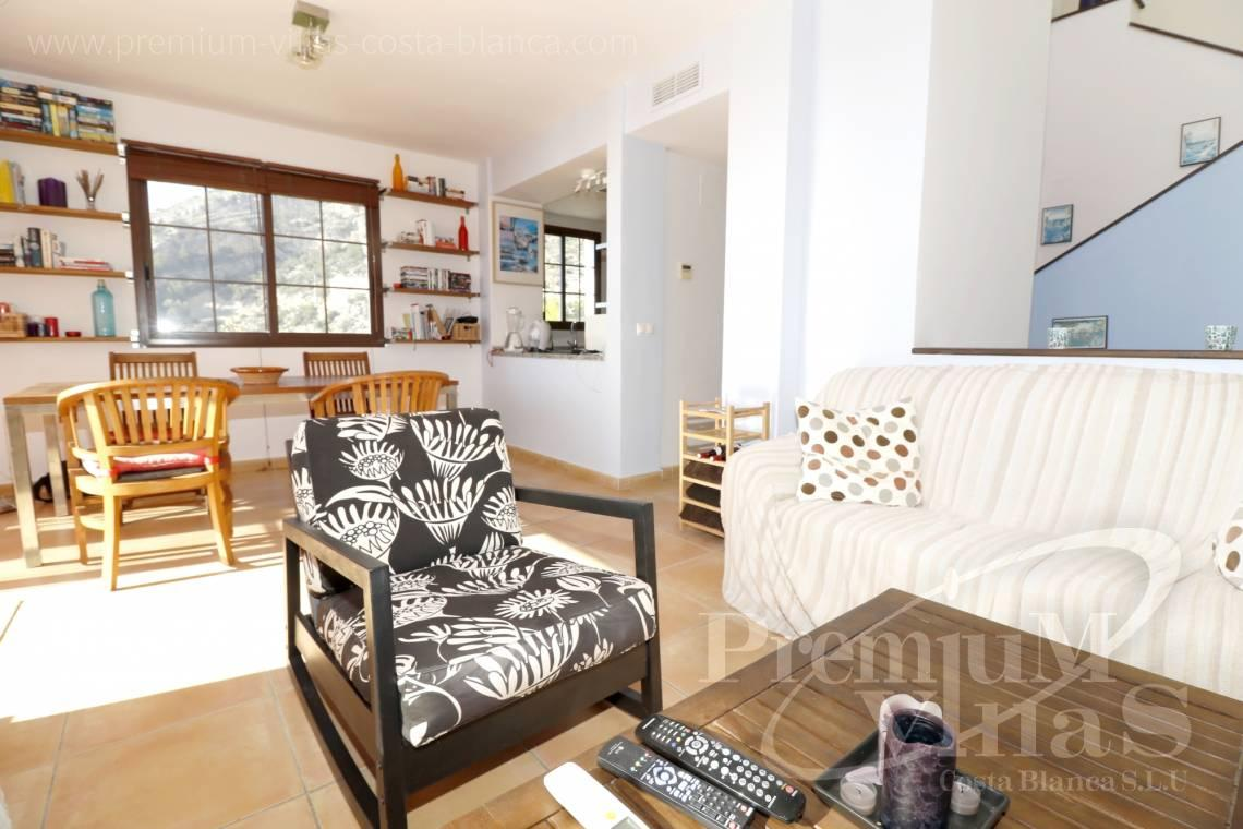 - C1781 - Cozy corner townhouse with nice terraces, fantastic sea views in Altea Hills! 7